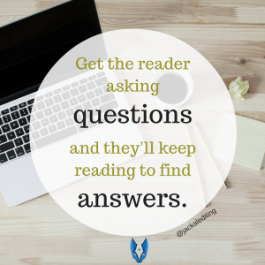 5 Ways to Nail the First Sentence of Your Novel - Get the Reader Asking Questions. See more ways to nail the first sentence of your novel (and 5 ways not to nail the first sentence) at jackalediting.com