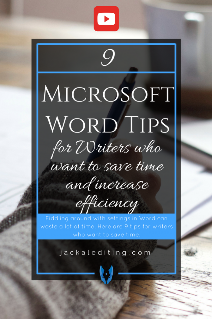 9 Microsoft Word Tips to Save Time and Increase Efficiency | Microsoft Word Tips for writers to help save time.
