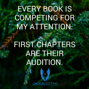 First Chapters