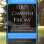 First Chapter Friday #6 (September 2016)
