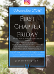 First Chapter Friday #9 (December 2016)