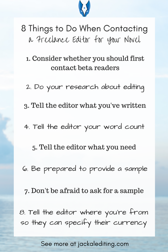 Organising a freelance book edit can be an exhausting and frustrating experience --- I mean for me, not for you. I'm sure it's daunting and scary for writers, but life for me as an editor (and, therefore, your book edit) would be a lot smoother if more people followed these guidelines when querying me.