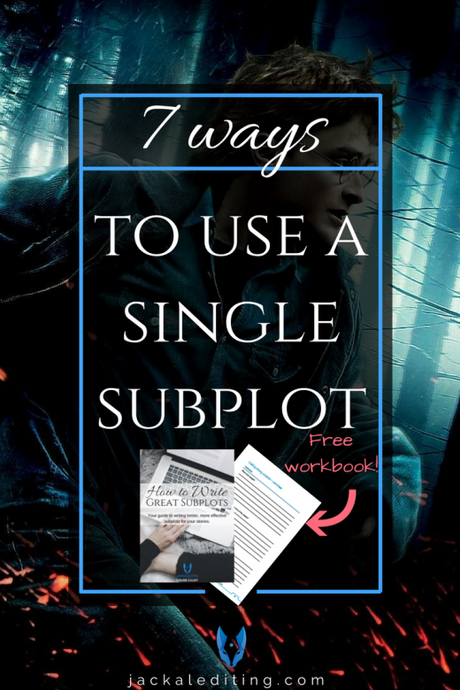 7 Ways to Use a Single Subplot (How Quidditch Helps Tell Harry Potter's Story) | Great tips for how to use subplots in your stories that don't feel forced or extraneous, using Harry Potter's Quidditch as an example. A must read for writers who struggle with subplots.