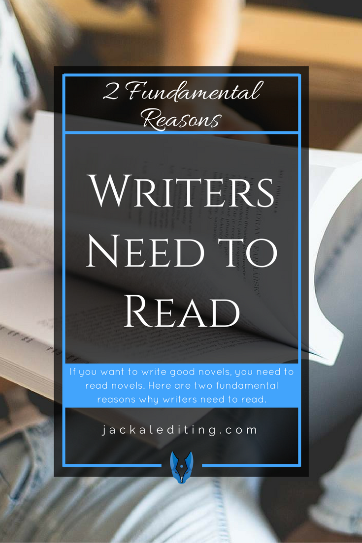 2 fundamental reasons writers need to read