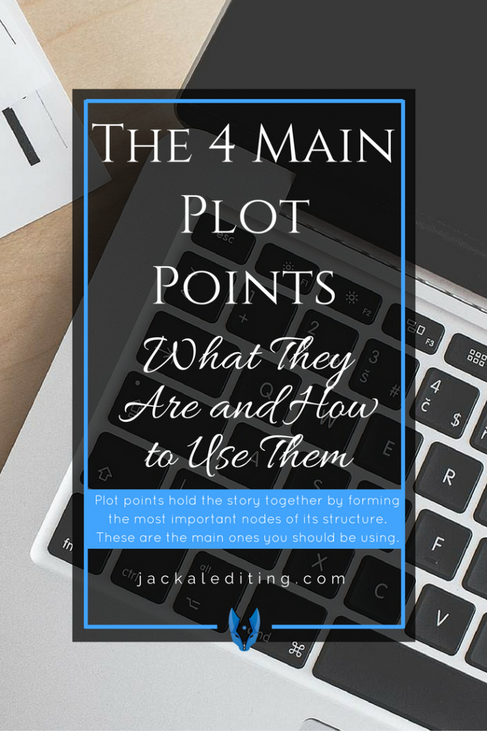 The 4 Main Plot Points and How to Use Them | Tips for writers on how to utilise the most important moments in your story. A must read for writers and storytellers.