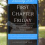 First Chapter Friday #10 (January 2017)
